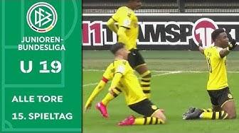 BVB feiert Statement-Sieg in Köln | Alle Tore der A-Junioren-Bundesliga | 15. Spieltag