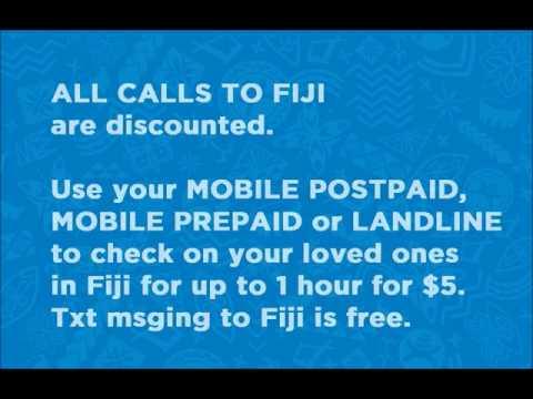 $5 Fiji Capped Calling