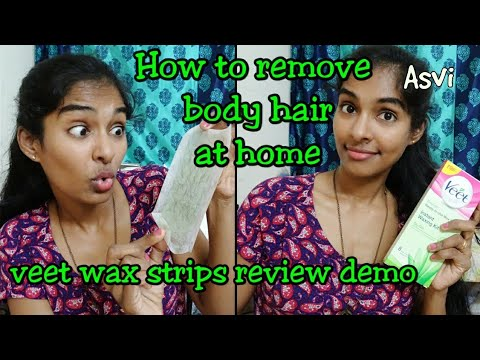 Review Amp Demo Veet Ready To Use Wax Strips Doovi