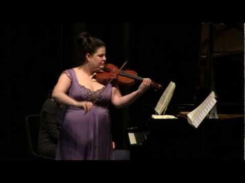 Claude Debussy, Sonate pour violon et piano - Intermede: Fantasque et Leger
