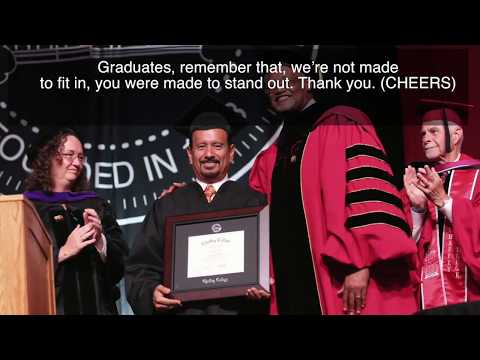 Hot Cheetos inventor speaks at Chaffey College graduation