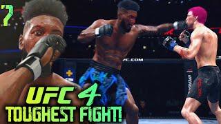 UFC 4 Career Mode #7: Earning New Contract! Paul Felder Is A BEAST! UFC 4 Career Mode Gameplay