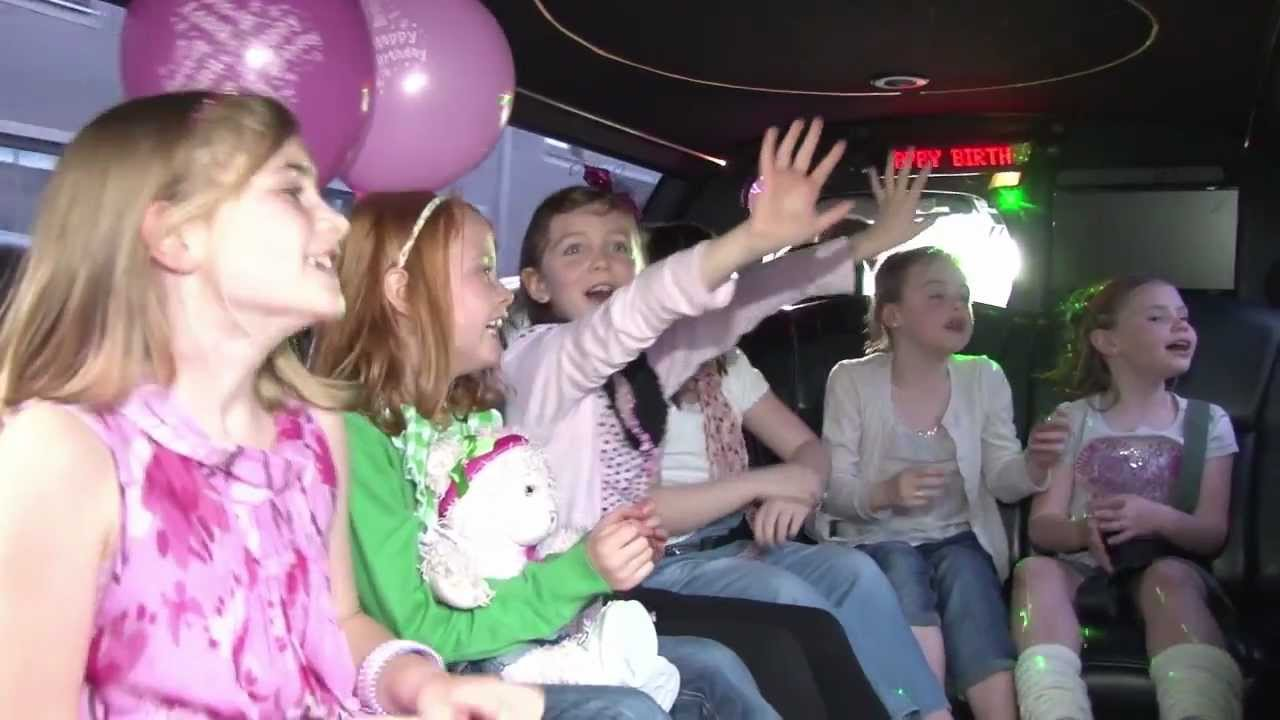 Sample Quot Kids Birthday Limo Party Quot Youtube