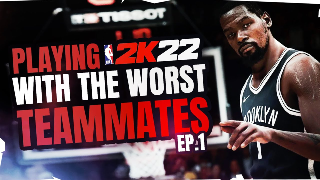 NBA 2K22 WITH THE WORST TEAMMATES   NBA 2K22 GAMEPLAY PS5   OLD GYM QUEST