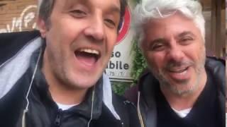 Flavio Insinna e Dino Abbrescia danno appuntamento a Corato