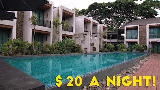How to Live Like a King for $20 a Night in Thailand!