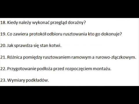 pytania montażowe)