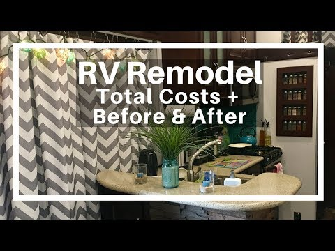RV Remodel Before & After (With Costs) - YouTube