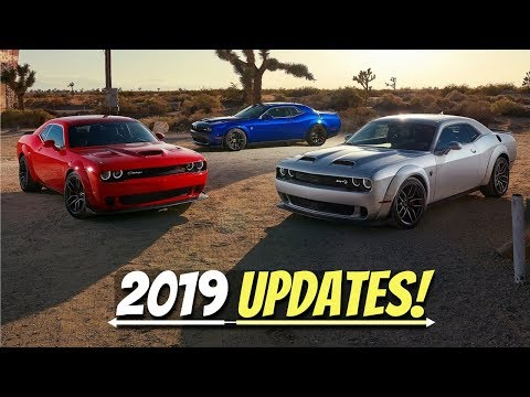What's New for the 2019 Dodge Challenger Lineup? -  Refreshed Models, Extra Power, Prices, & MORE!