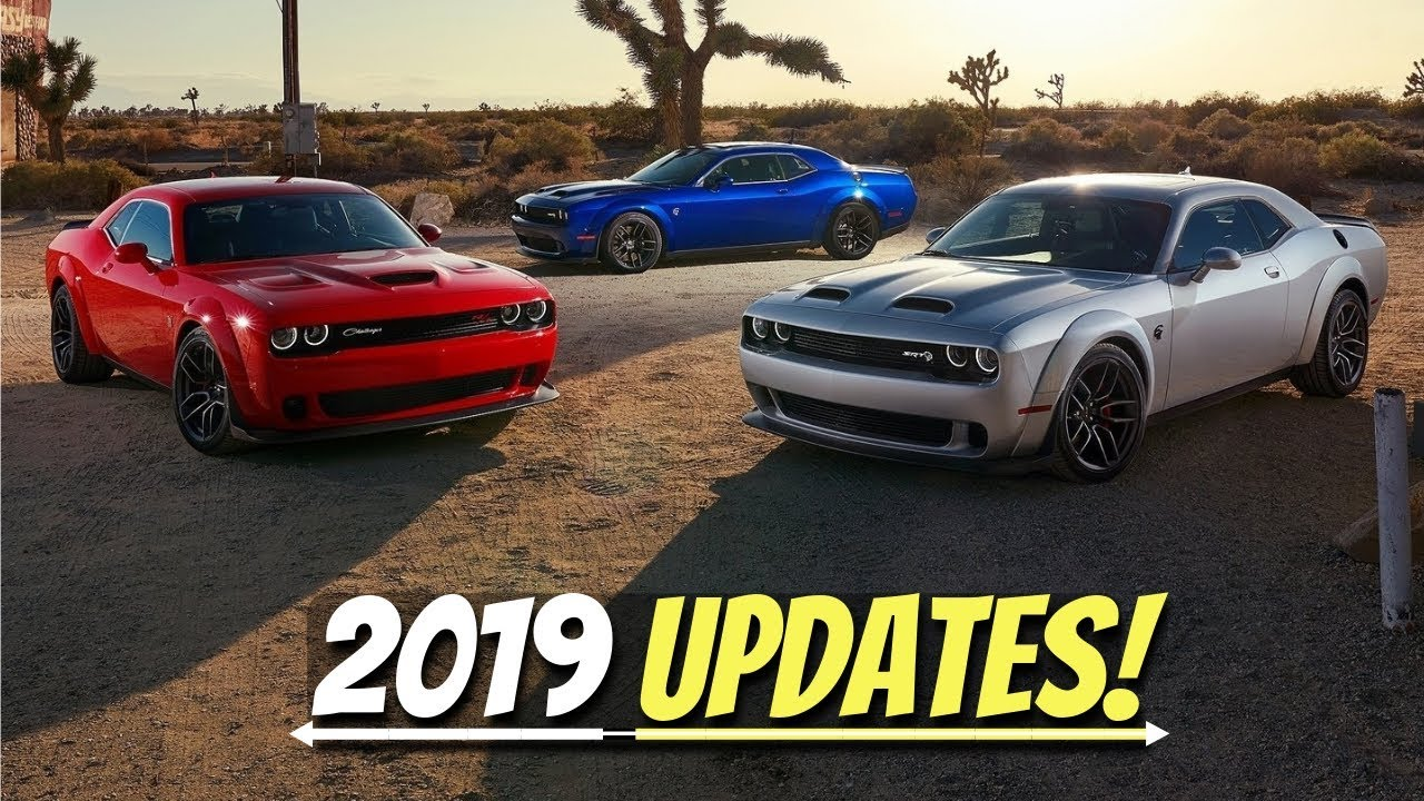 What S New For The 2019 Dodge Challenger Lineup Refreshed Models