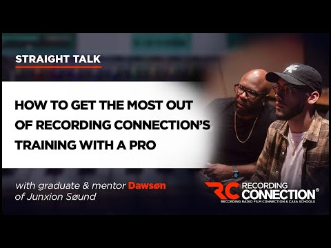 Dawsøn on How to Get the Most Out of Recording Connection's Training with a Pro