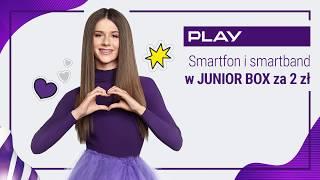 Słuchaj Roksany Węgiel w Play! | Sprawdź nowy JUNIOR BOX ze smartfonem Huawei Y6 i smartbandem!