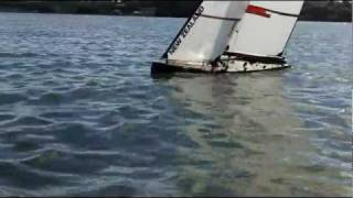 1m america s cup rc yacht