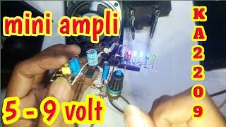 Ampli mini 5 volt sterio /mono #viral
