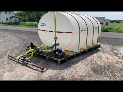TITAN 3000 Gallon System Tank - Central Equipment Of CNY
