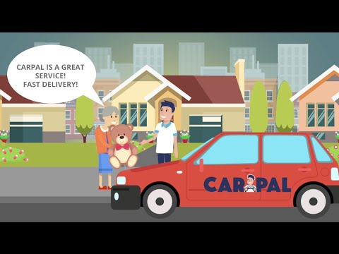 CarPal - Your same-day delivery service, any place, any time, on-demand!