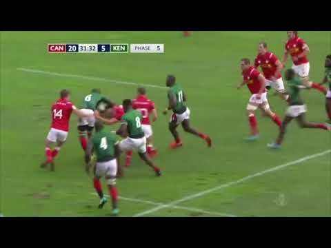 HIGHLIGHTS | Canada defeats Kenya to open RWC 2019 repechage