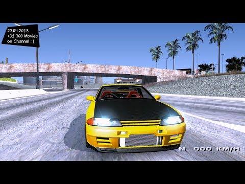Nissan Skyline R32 GT-R Edited Grand Theft Auto San Andreas GtaInside