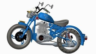 Hybrid Bikes And Bicycles Design - Using 3d Modelling Software Pro E (ptc Creo Elements) .