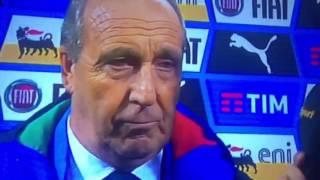 Intervista Giampiero Ventura Post Partita Italia-Germania 0-0