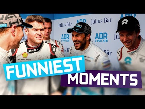Funniest Moments Of 2018! | ABB FIA Formula E Championship