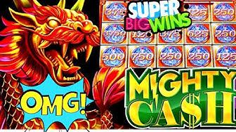 Mighty Cash Slot Machine Bonus & HUGE WIN  - Fantastic Run | NEW Endless Treasures Slot Machine