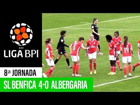 Liga BPI: SL Benfica 4 - 0 Clube Albergaria/Durit