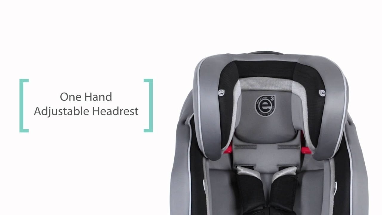 evenflo evolve platinum 3 in 1 booster car seat youtube. Black Bedroom Furniture Sets. Home Design Ideas