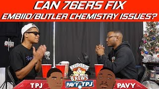 Can 76ers fix Jimmy Butler vs Joel Embiid chemistry? | Hoops N Brews