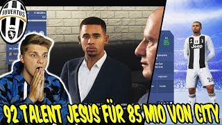Wir kaufen 92 Talent G. JESUS für 85.000.000€ von City ab! - Fifa 19 Karrieremodus Juventus Turin 35