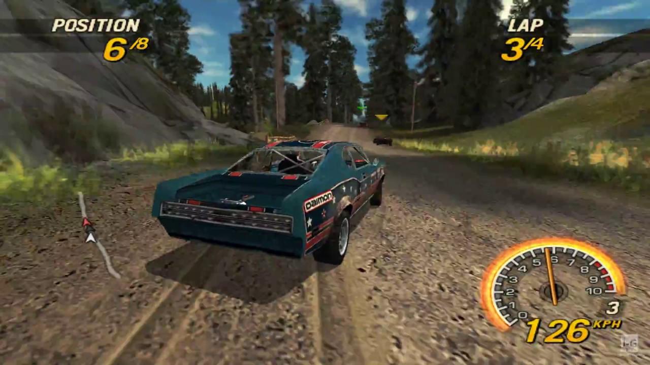 Resultado de imagem para FlatOut Head On PSP