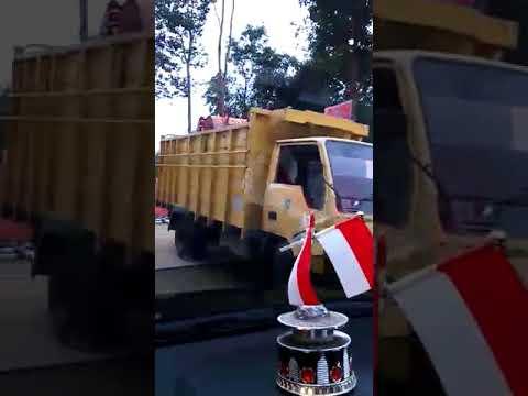 Jalan Kelok 9 Muaro Silokek Kab Sijunjung (Peresmian Kepala BNPB)