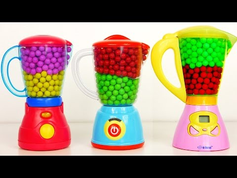 Kitchen Blenders Filled with Candy and Surprise Toys for Kids