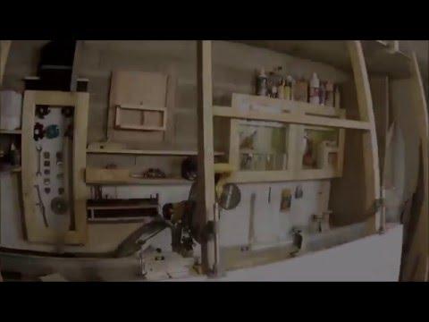 presse a panneaux pliante en bois/Panel Clamp