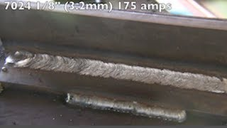 Stick Welding with 7024 Welding Rods