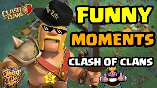 TOP FUNNY MOMENTS, TROLLS, WINS AND FAILS COMPLIMATION | CLASH OF CLANS FUNNY VIDEO