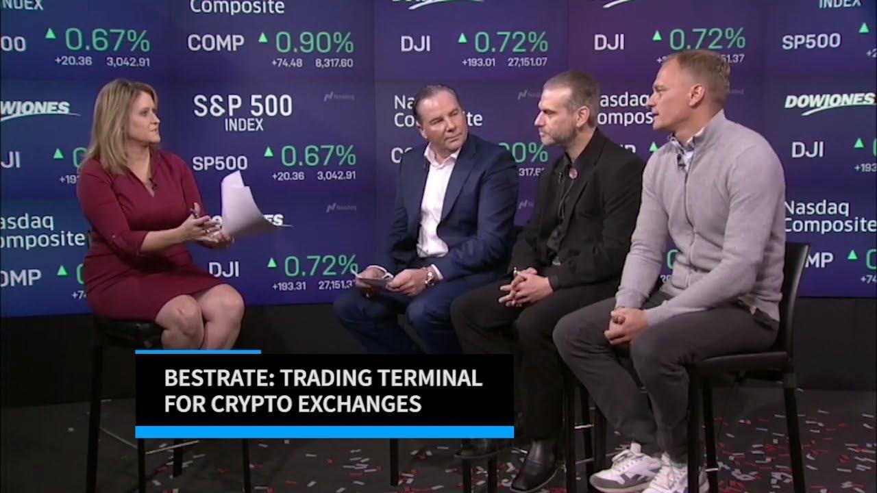 Bestrate   Cryptocurrency Exchange Aggregator   Pavel Shter, Peter Sommer & Sean Brizendine