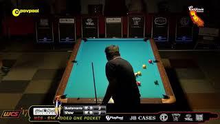 #4b (PT 2) Francisco BUSTAMANTE vs Jayson SHAW / 2017 WCC One Pocket