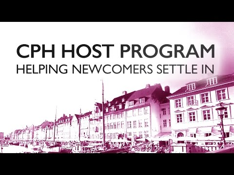 Copenhagen Host Program - Helping Newcomers to settle in - København