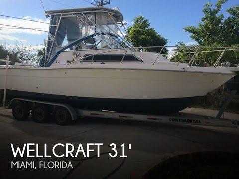 [UNAVAILABLE] Used 1994 Wellcraft 2800 Coastal Walkaround In Miami, Florida