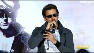 Hrithik Roshan at Krrish 3 Success Meet in Chennai