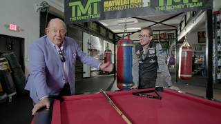 Robin Leach performing some classic Trick Shots...