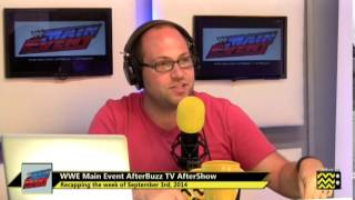 WWE's Main Event After Show for September 3rd, 2014 | AfterBuzz TV