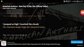American Authors-Best Day Of My Life  Lyrics dan artinya bahasa indonesia