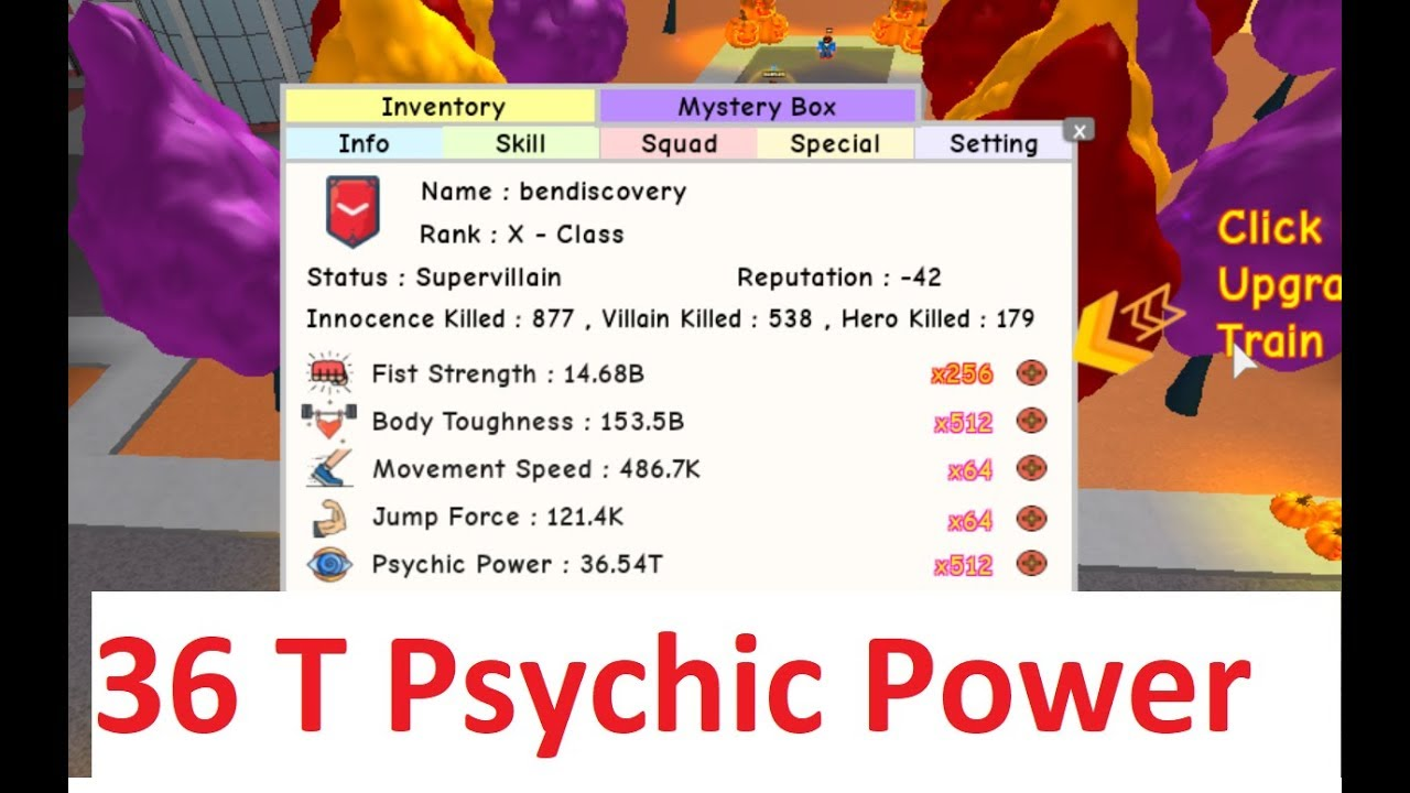 36T Psychic Super Villain Takes Down Everyone in Super Power