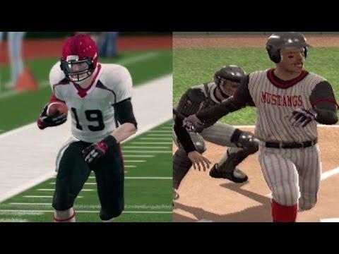 Dual Sport Athlete! | NCAA Football 14/MVP NCAA Baseball 07