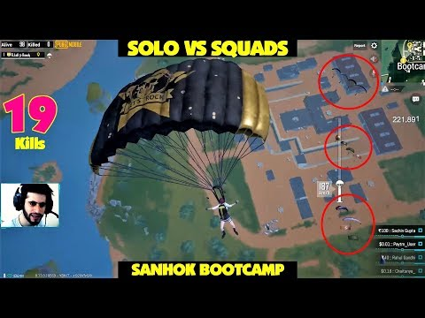 Ek Rowdy sab pe bhari 😂 SOLO vs SQUADS Bootcamp Gameplay 😭 ENDING