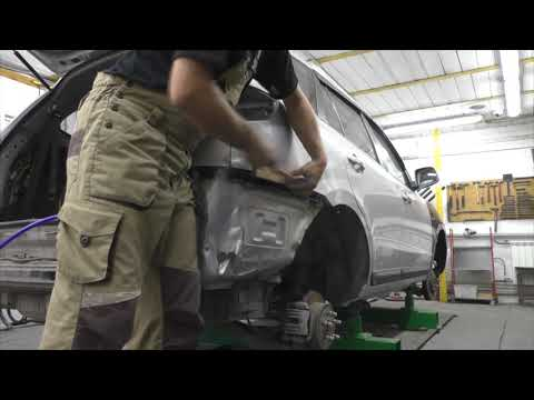 Санта Фе, финиш, результат. Body repair after an accident.
