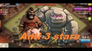 Clash Of Clans - 3 Stars HoGo Attack Strategy Th9
