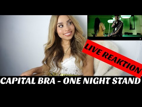 CAPITAL BRA - ONE NIGHT STAND (PROD.BY THE CRATEZ & DANNYEBTRACKS) (Live Reaktion)